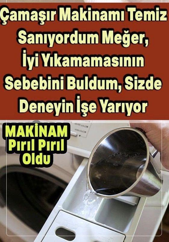 Çamaşır Makinesinde Kötü Kokulardan Nasıl Kurtulabilirsiniz?