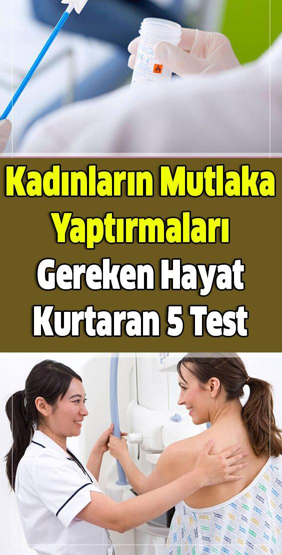 Kadınların Mutlaka Yaptırmaları Gereken 5 Test