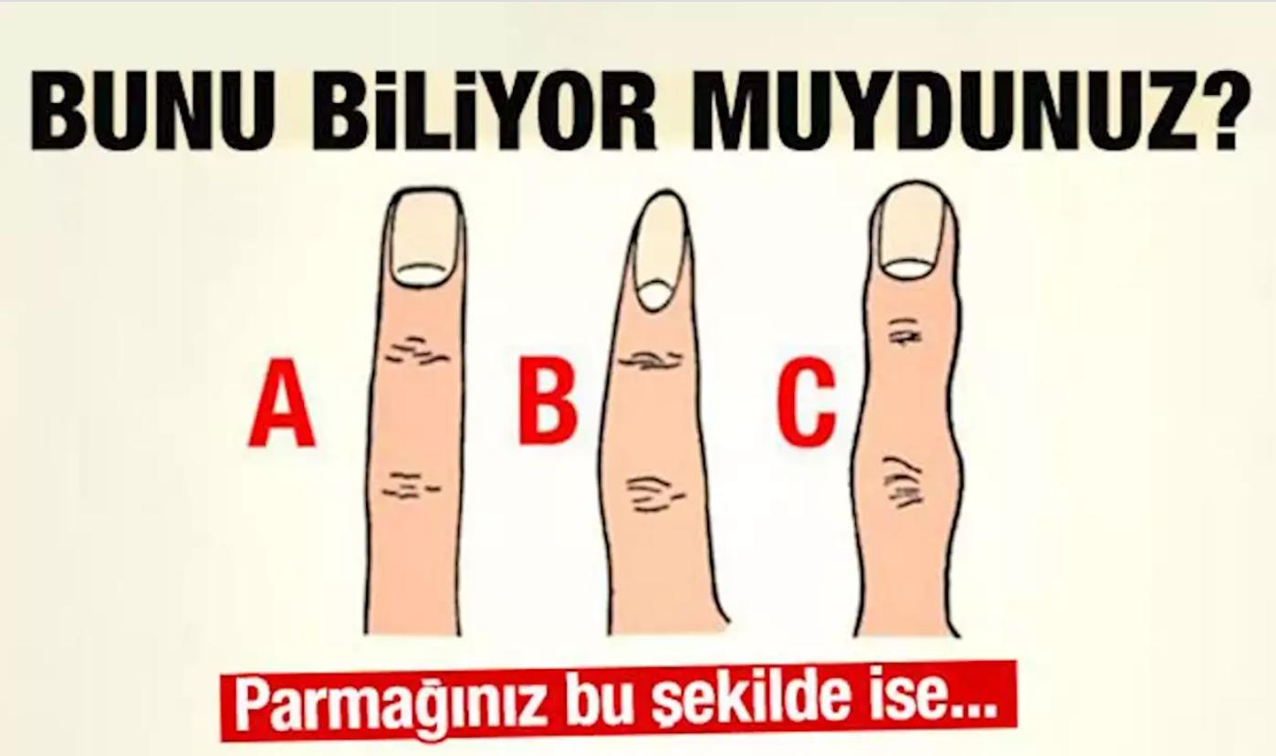 Sizin Parmağınız Bunlardan Hangisi