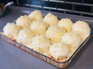 Tavuklu Beşamel Soslu Patates Topları